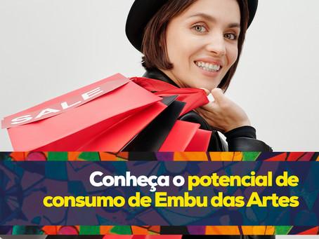 Conheça o potencial de consumo de Embu das Artes