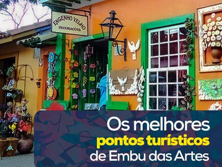 Os melhores pontos turísticos de Embu das Artes