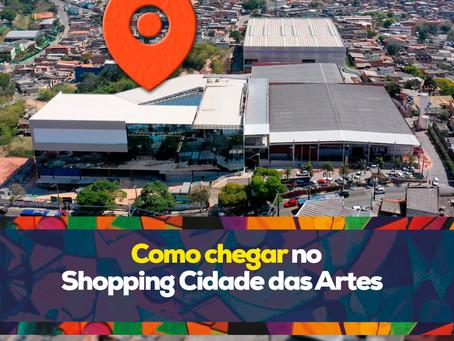 Como chegar no Shopping Cidade das Artes