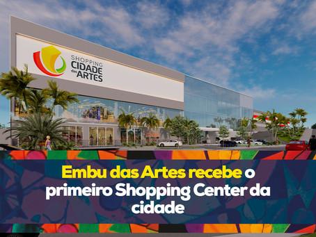 Embu das Artes recebe o primeiro Shopping Center da cidade
