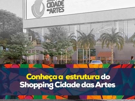Vídeo | Conheça a estrutura do Shopping Cidade das Artes