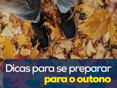 Dicas para se preparar para o outono