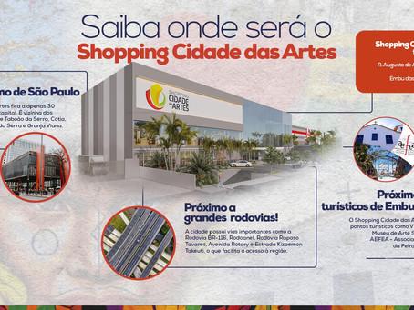 Saiba onde será o Shopping Cidade das Artes