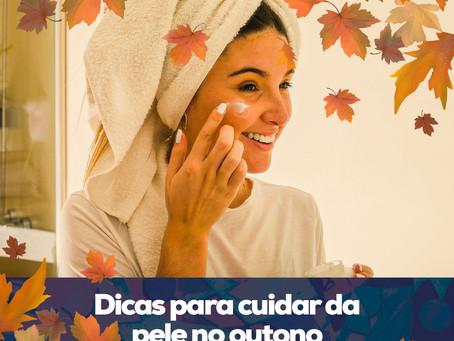 Dicas para cuidar da pele no outono