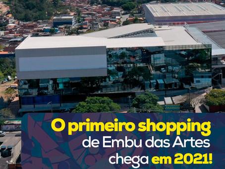 Primeiro shopping de Embu das Artes chega em 2021