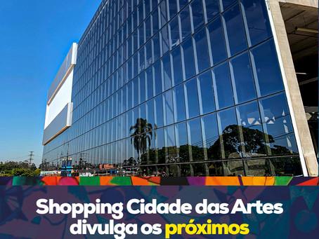 Shopping Cidade das Artes evolui nas obras internas