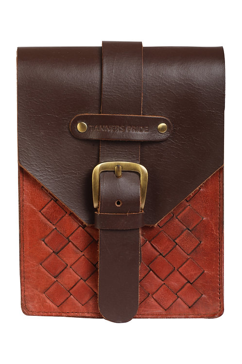 MAGNETIC CASE HAND WEAVE RED