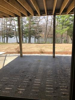 Huellmantel basement porch