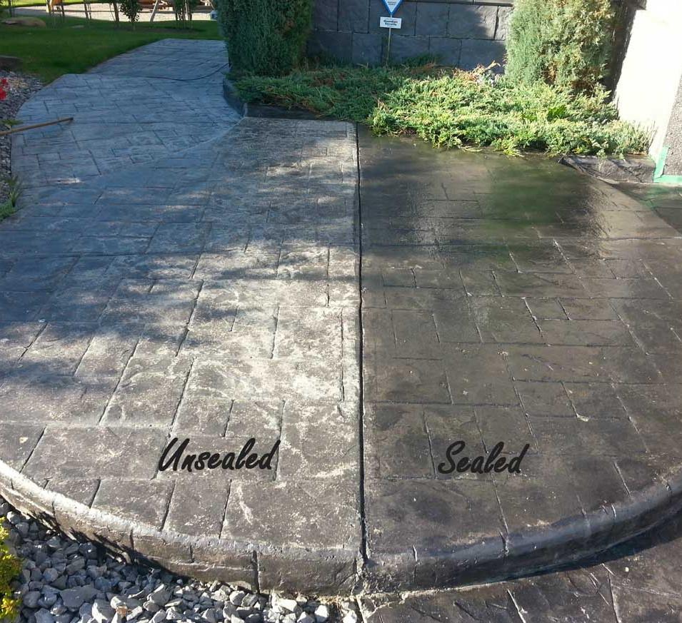 Concrete Patio Sealing