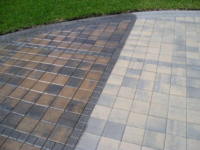 Concrete Paver Patio Sealing
