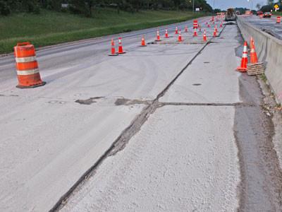 Concrete Highway Repairs