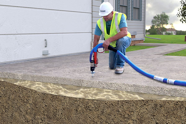 Indianapolis Concrete Lifting, Leveling, and Raising Concrete Repair Estimate