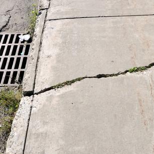 Concrete Void FIll Repair Pittsburgh