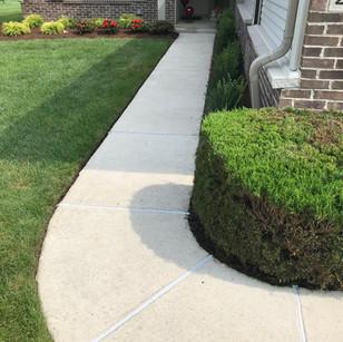 Cauled Sidewalk Joints
