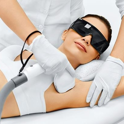 Womens Laser Hair Removal - XL Area