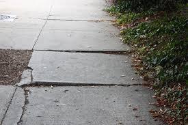 Sidewalk Lifting