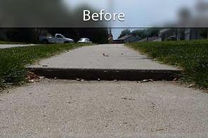 Concrete Raising Tampa Before