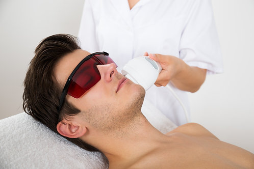 Mens Laser Hair Removal - SMALL Area
