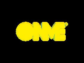 Logo ONME horizontal amarillo