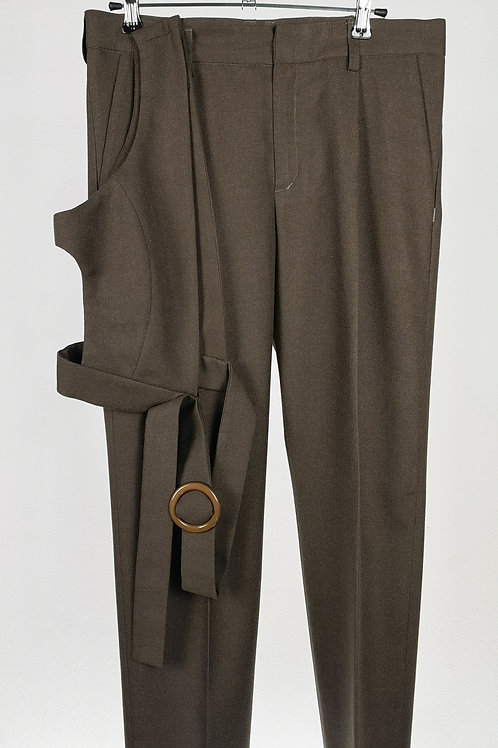 Pantalón + Chaleco asimétrico