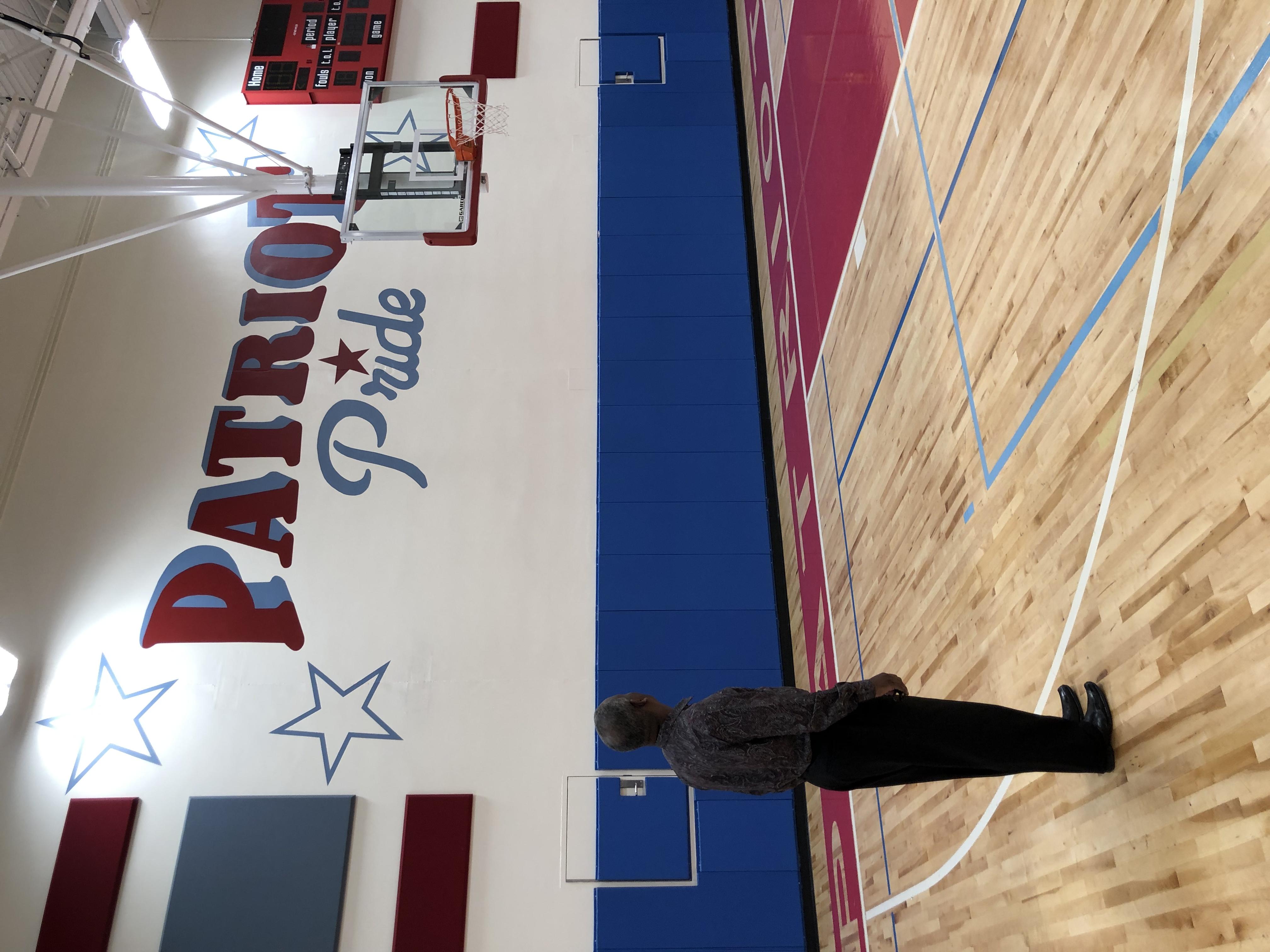 Barack Obama Gym Wall