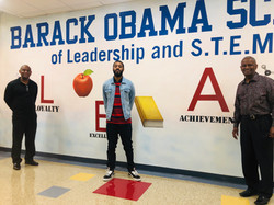 Barack Obama Gym Wall