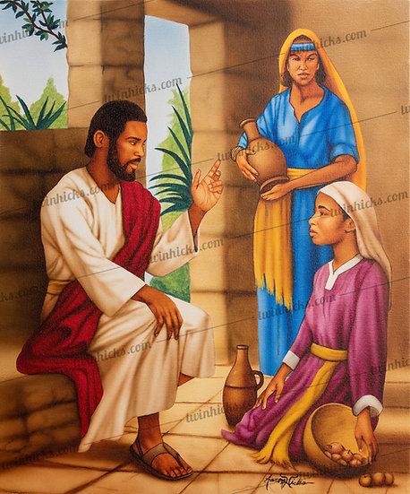 Jesus, Mary & Martha