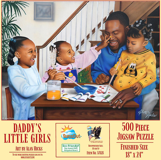 Daddy's Little Girls Puzzle