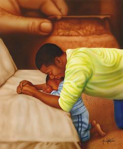Father & Son Praying