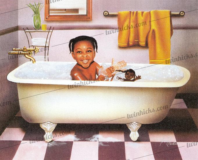 Tub Time Girl