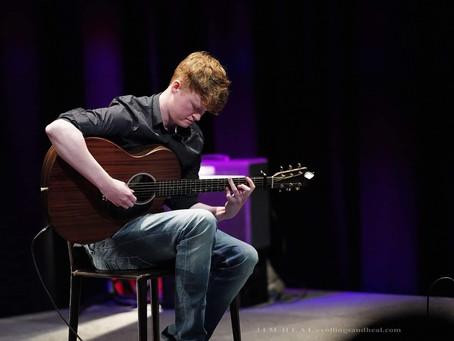 """Bit of ciúnas for the musician"" - Jordan Lively"