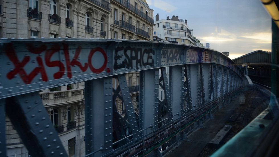 Paris Metro, France - 2018