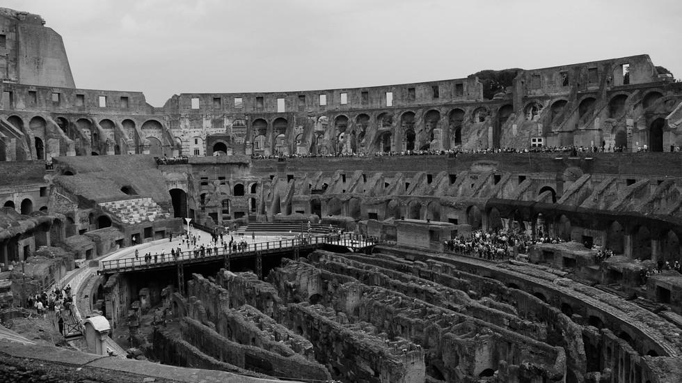 Amphitheatrum Flavium AKA The Colosseum, Rome, Italy - 2018