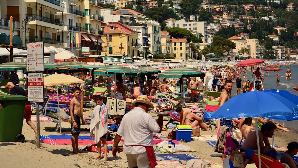Alassio, Liguria, Italy - 2018