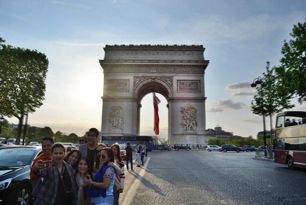 Arc de Triomphe de l'étoile, Paris, France - 2018