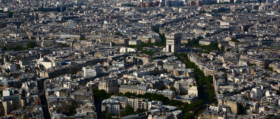 Paris from the Tour d'Eiffel