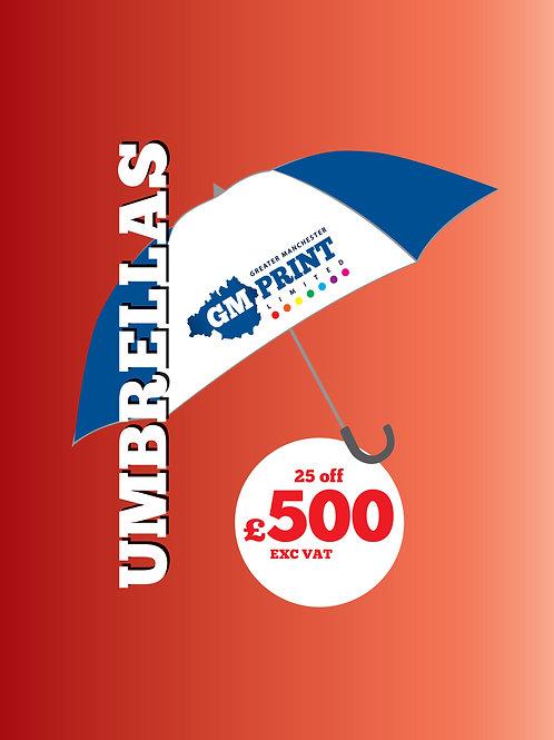 25 Umbrellas
