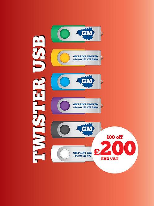 100 Twister USB