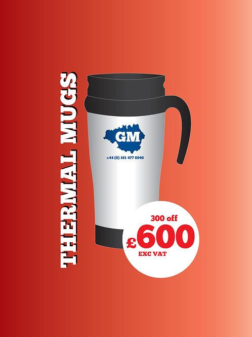 300 Thermal Mugs