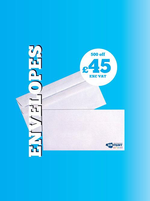 500 DL Envelopes