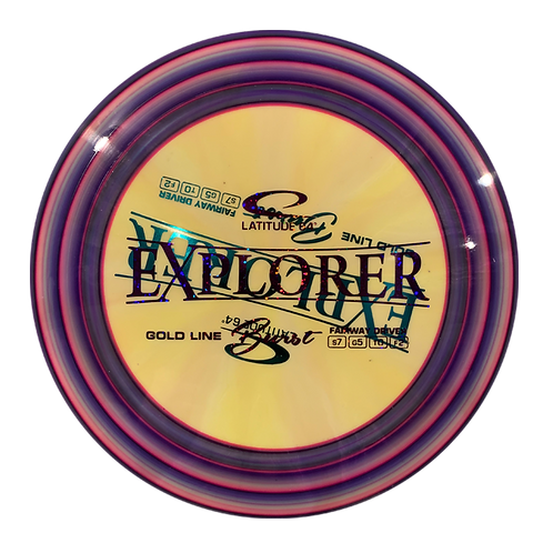 Gold Line Burst Explorer