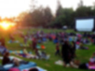 movie night in the park fundraising event
