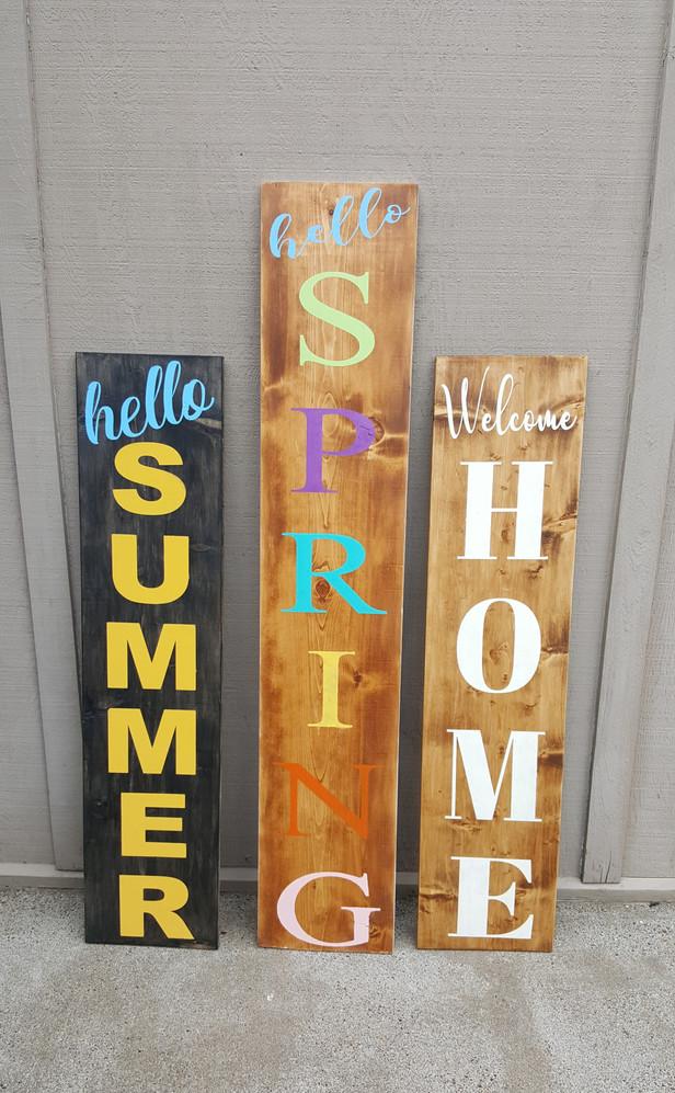 Porch Signs