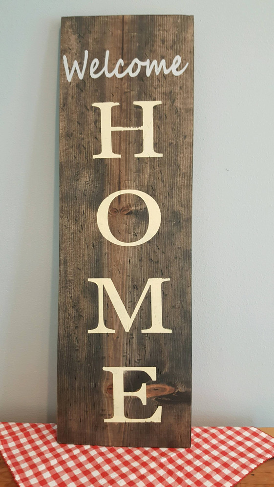 """Welcome Home 48"""""""