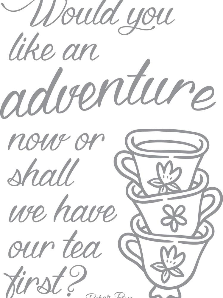 Teacup Adventure 18X24in