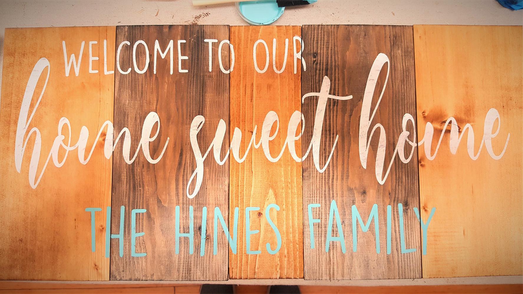 Welcome HSH 2-Tone