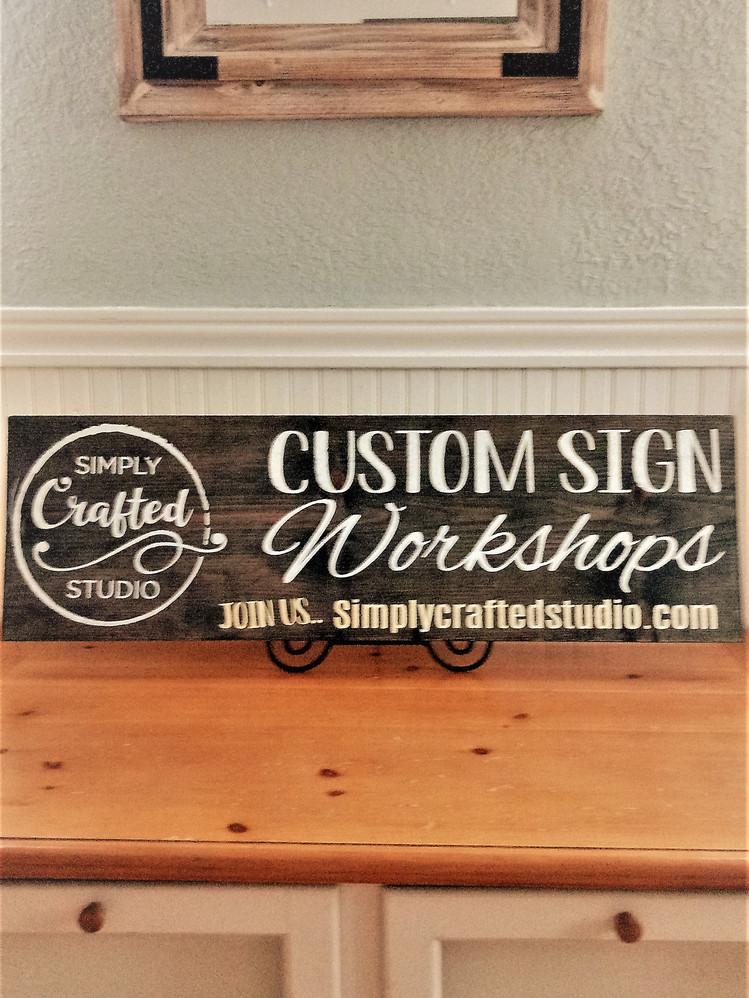 Hang-Your-Shingle Sign
