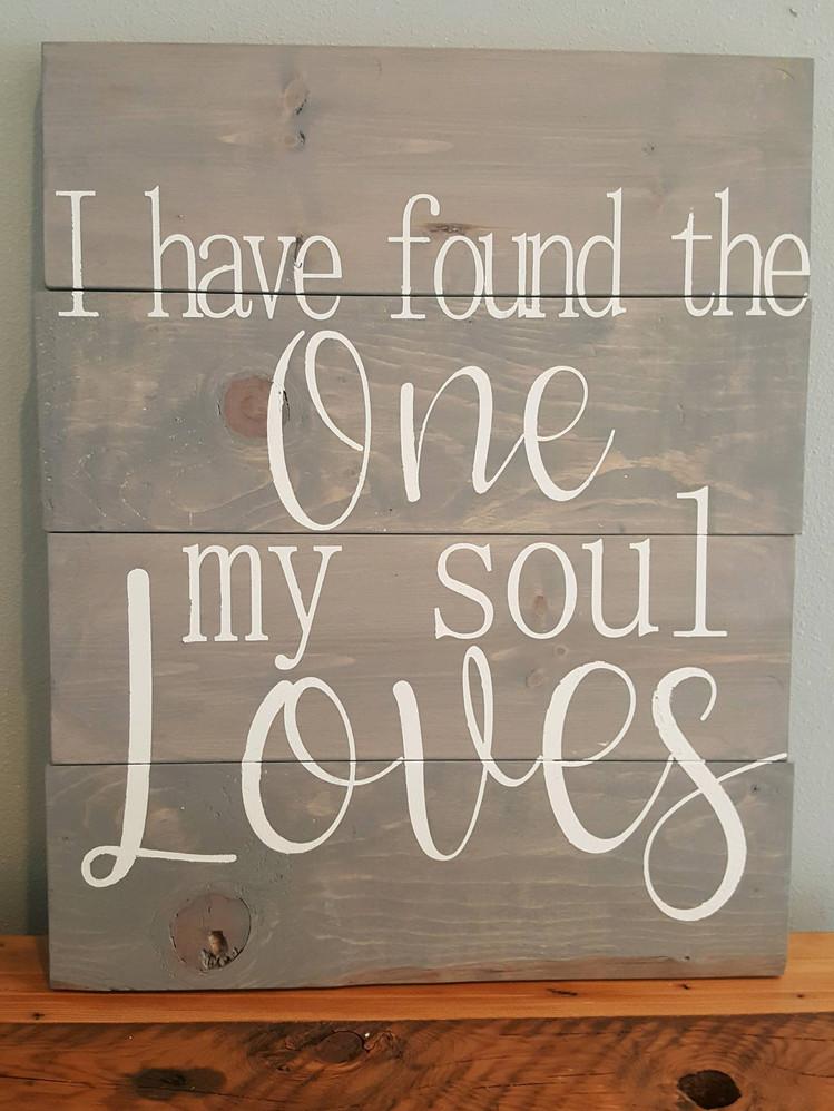 My Soul Loves 24hX18w