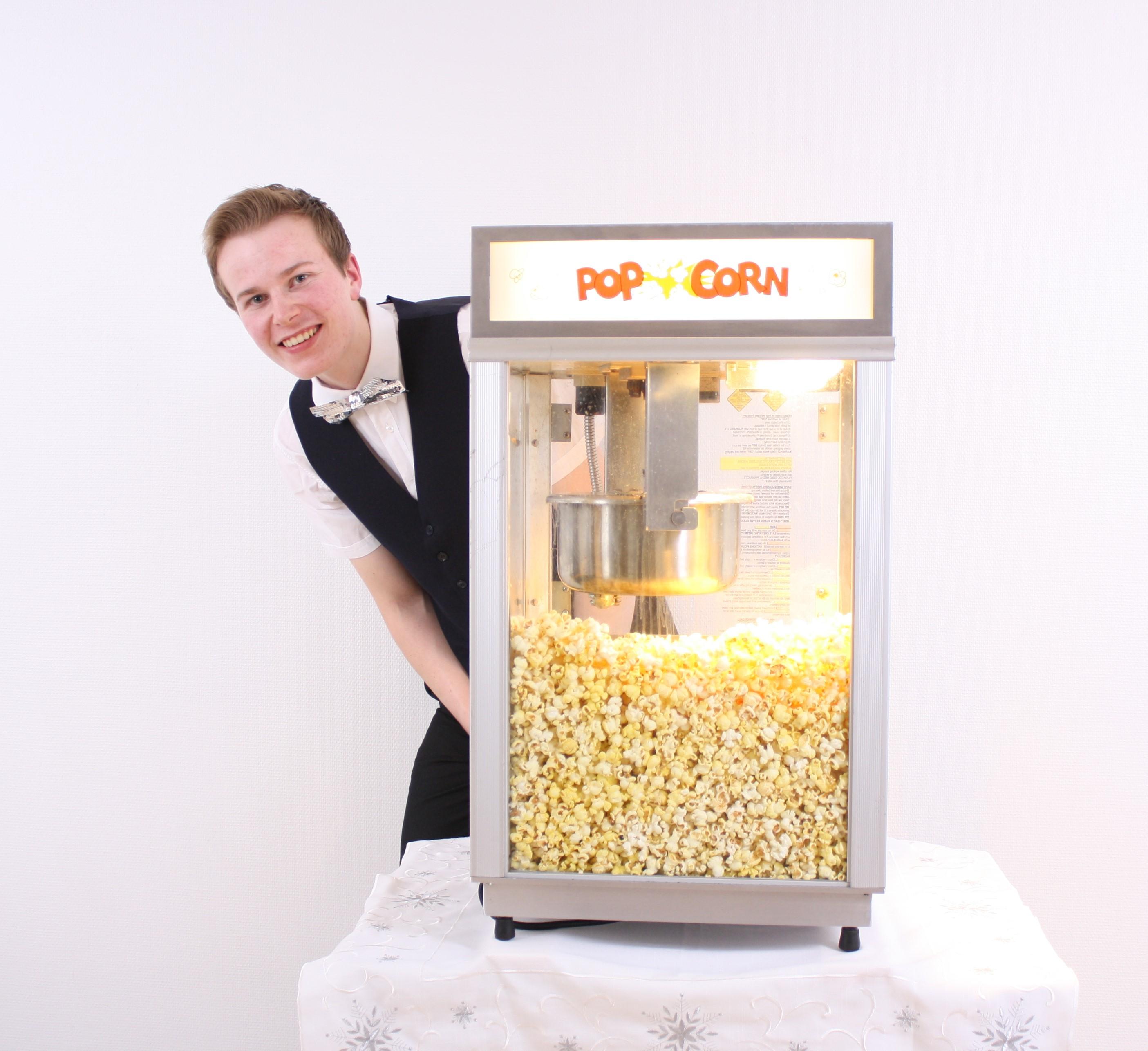 Popcornmaskin!