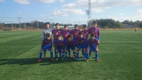 U-14クラブユース選手権 2次トーナメント  vs アセノSC
